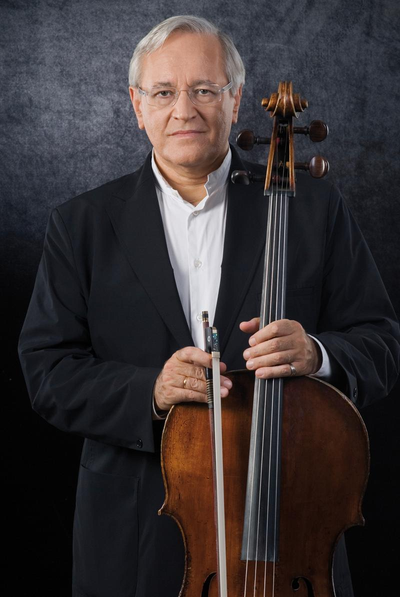 Cellist David Geringas.