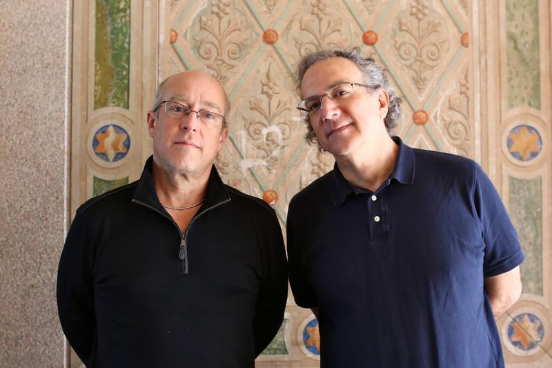 Dave Douglas and Uri Caine's duo album, 'Present Joys,' is out July 22.