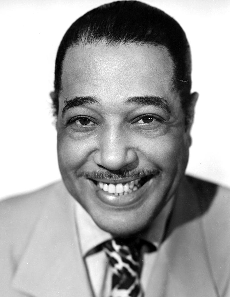 Publicity photo for Duke Ellington from the 1940s.
