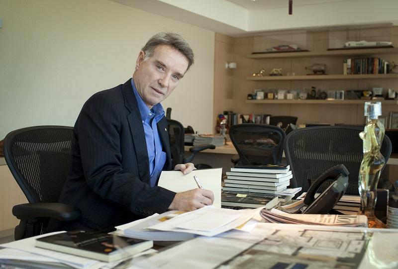 Eike Batista, founder of EBX Holding and richest man of Brazil at his office on February 15, 2012 in Rio de Janeiro, Brazil. Batista is German citizen and with an estimated worth of $27 billion.