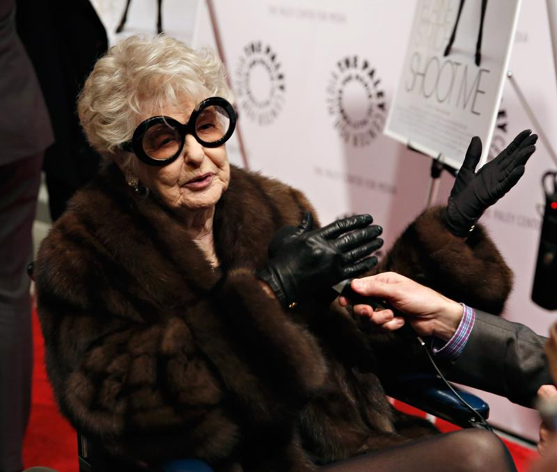Elaine Stritch attends the 'Elaine Stritch: Shoot Me' screening at Paley Center For Media on February 19, 2014 in New York City