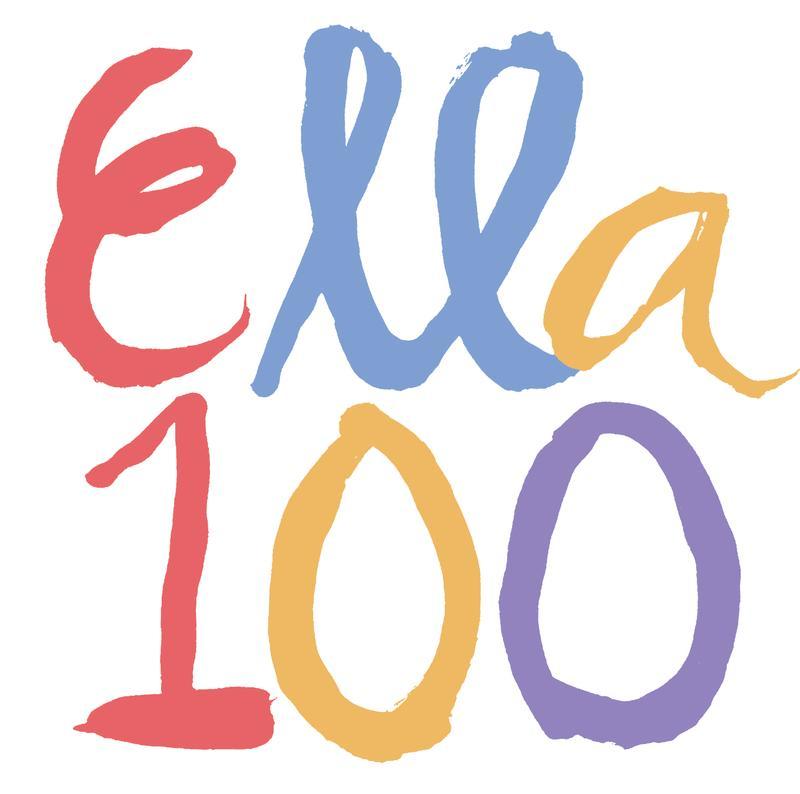 Ella 100 Logo