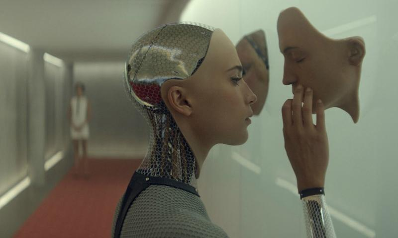A still from <em> Ex Machina</em>