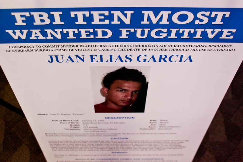 One of the FBI's top 10 Most Wanted Fugitives, Juan Elias Garcia, 21, wanted in connection to a Long Island killing.