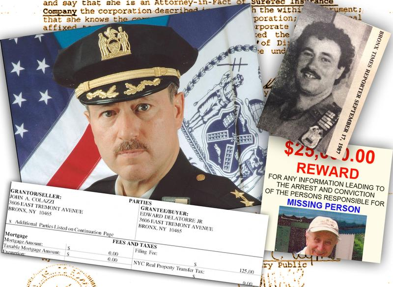 Assistant Chief Edward Delatorre built a small real estate empire and a private security company in the Bronx.