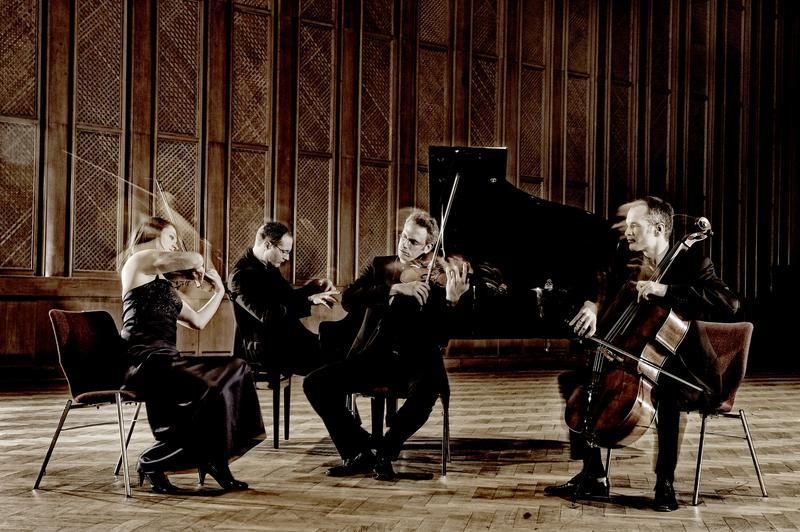 The Fauré Piano Quartet.