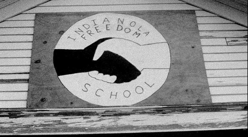 "One of the Mississippa ""Freedom Schools."""