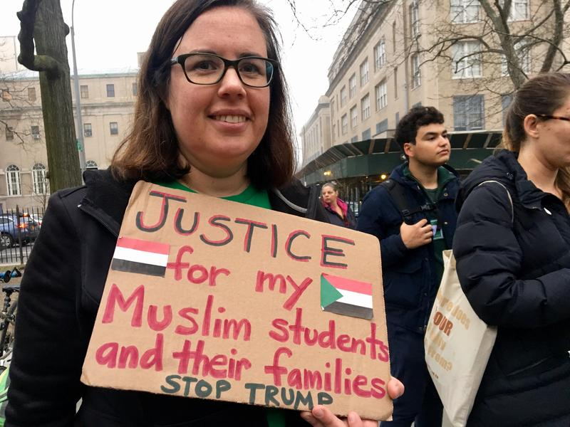New York City public school teachers say supporting Muslim students should not be partisan.