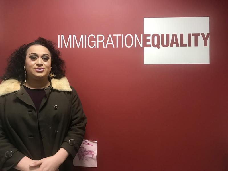 Ishalaa Ortega, a Mexican transgender woman, won asylum to the United States with help from attorneys at Immigration Equality in New York.