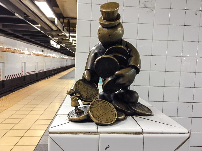 14th Street subway station art