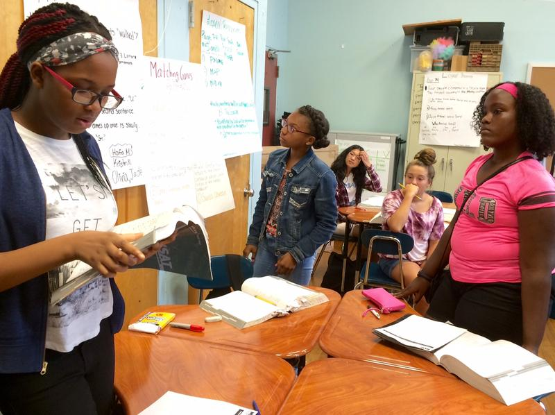 Specialized high school test prep at one of the city's DREAM Intensive courses, held at P.S. 89 in the Bronx.
