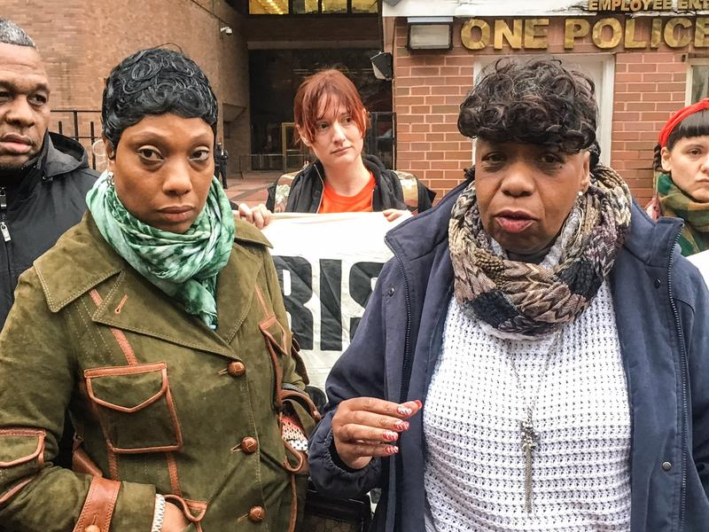 Constance Malcolm, the mother of Ramarley Graham, and Gwen Carr, the mother of Eric Garner.