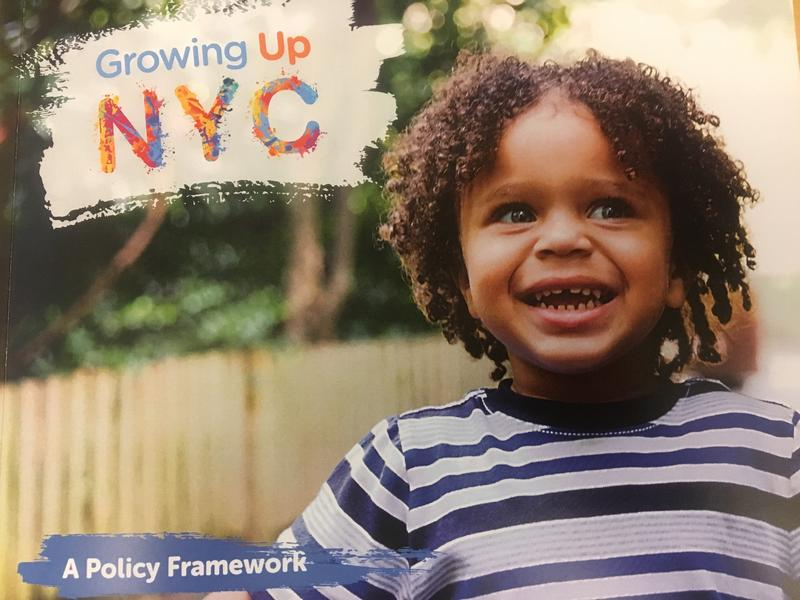 """City launches """"Growing Up NYC"""" to increase communication and collaboration between 24 agencies that work with children in some way."""