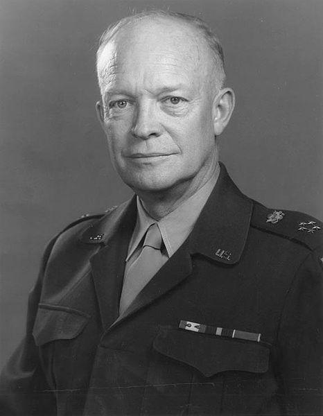 General Dwight D. Eisenhower in 1947.