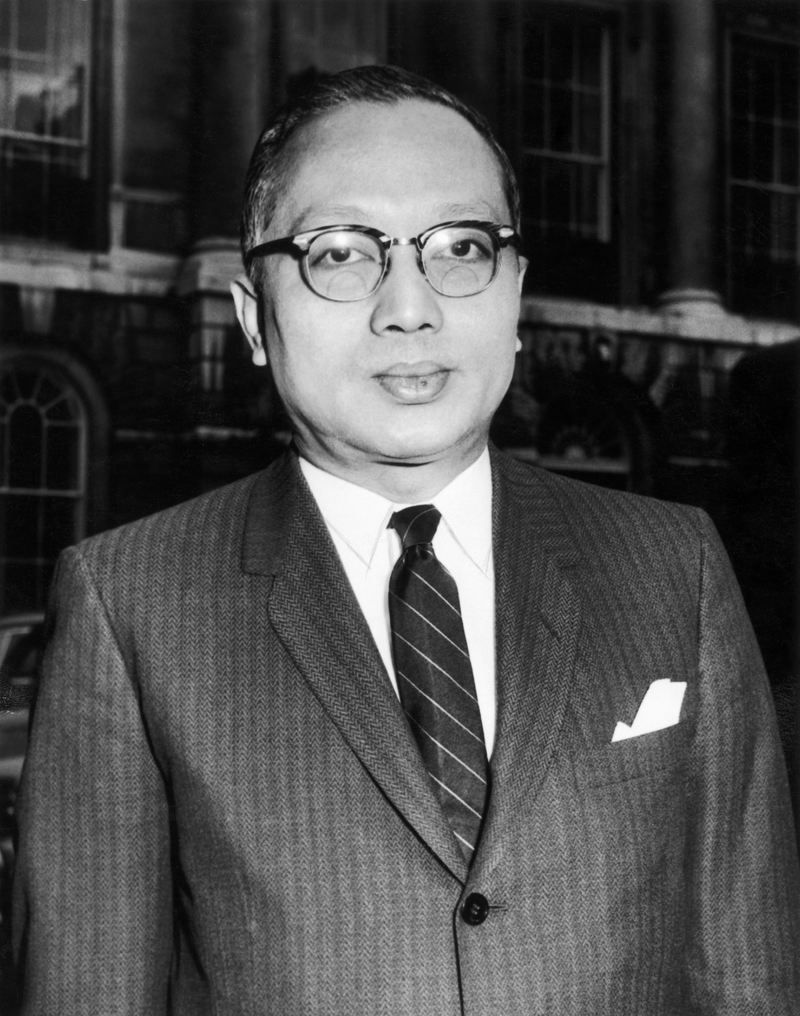 U Thant In London 1962