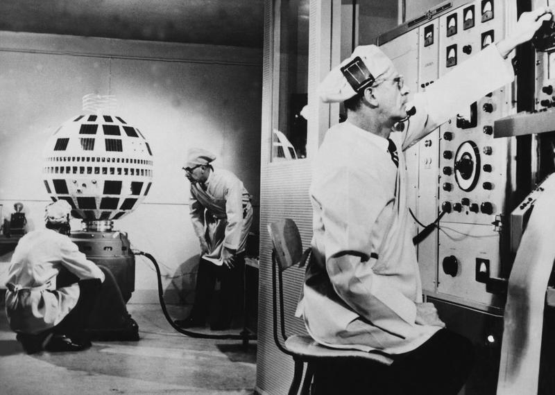 The Telstar Communications Sattelite 1962