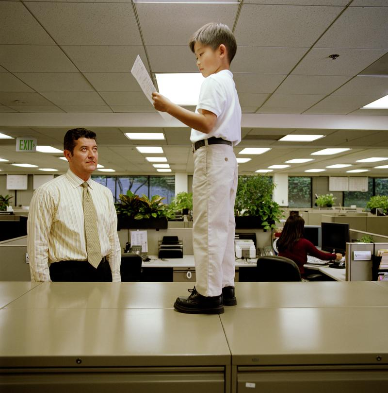 When the boss is much younger, there are ways to make the awkward dynamic work between an older subordinate and a younger manager.