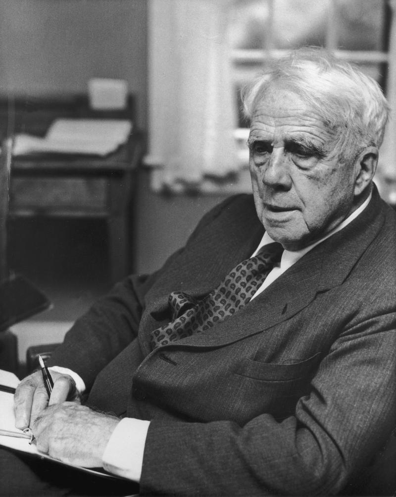 commentary robert frosts Critical analysis of fire and ice one said, poetry is when an emotion has found its thought and the thought has found words four time pulitzer prize winning american poet, teacher, and lecturer, robert frost quoted this.