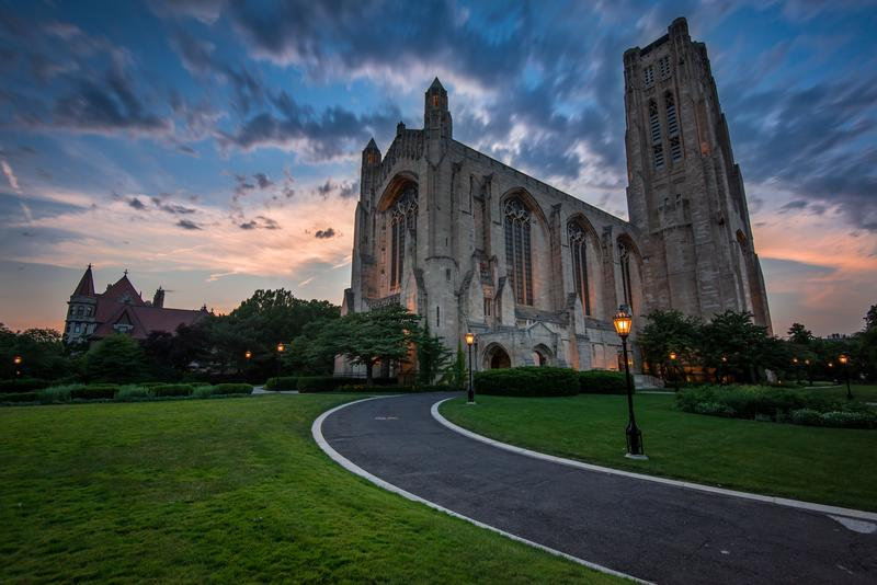 Rockefeller Chapel at the University of Chicago.