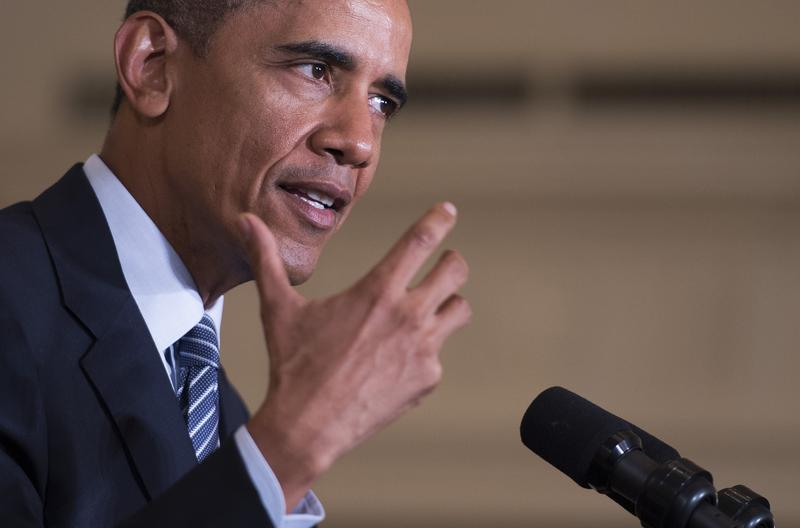 President Obama spoke from The White House Monday outlining new environmental rules.