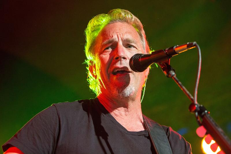 Actor/musician Kevin Costner of Kevin Costner & Modern West performs on stage at Belly Up Tavern on August 11, 2015 in Solana Beach, California.