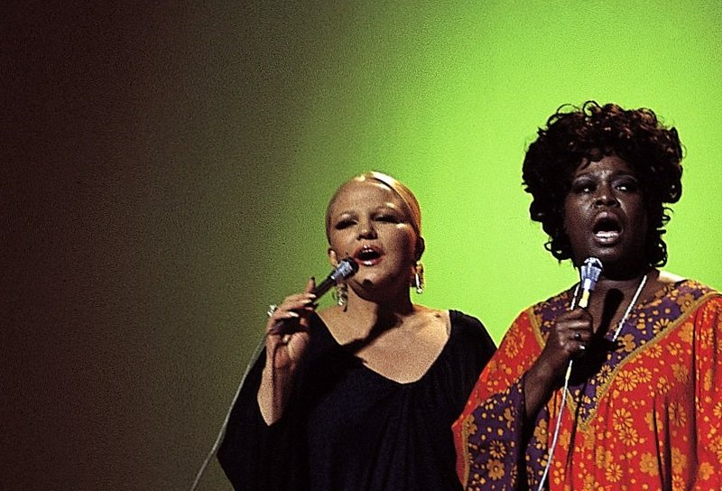 Peggy Lee and Sarah Vaughan Hollywood 1973