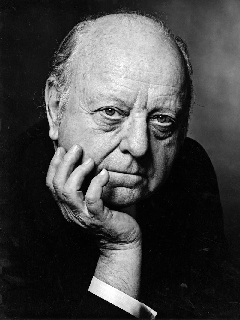Composer Virgil Thomson, 1971