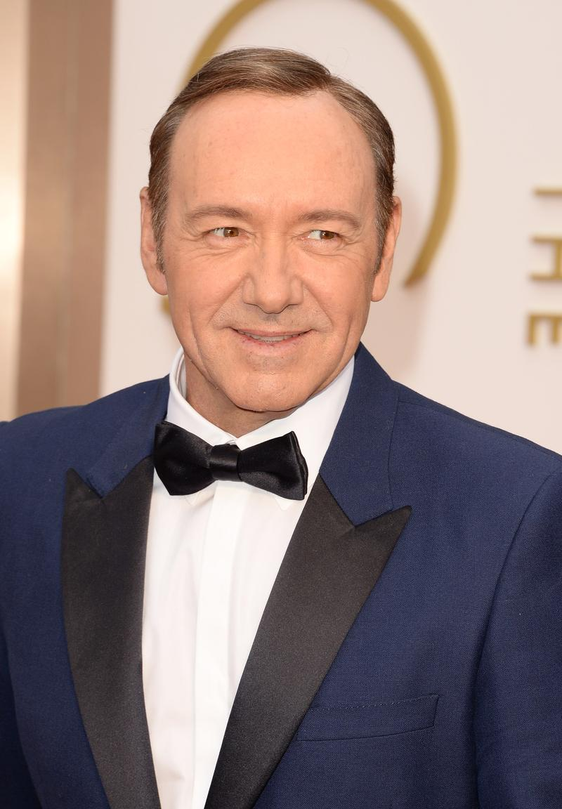 Kevin Spacey attends the Oscars held at Hollywood & Highland Center on March 2, 2014 in Hollywood, California.