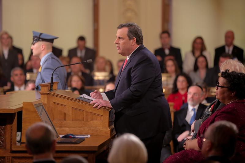Governor Chris Christie gives State of the State address, January 12, 2016
