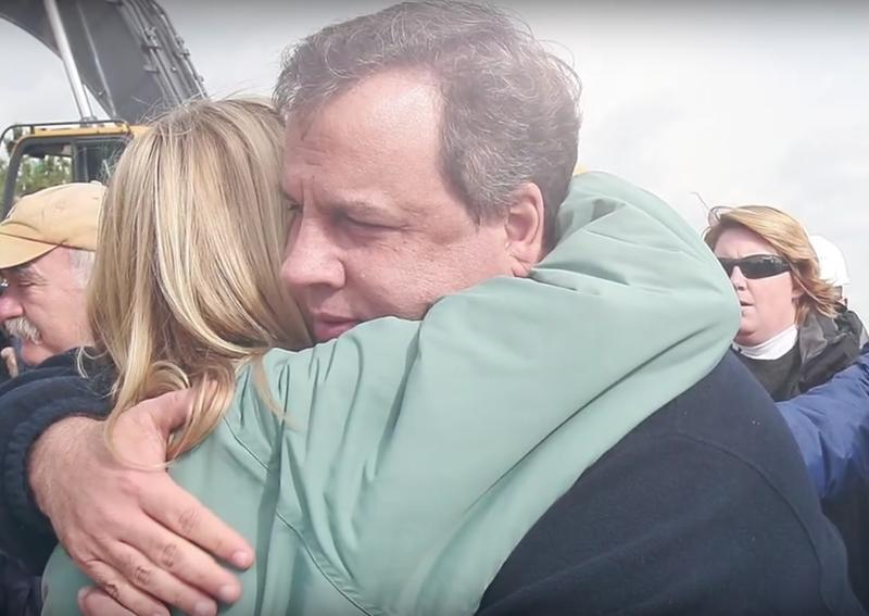 Image from ad by super PAC supporting Chris Christie's presidential campaign, America Leads.
