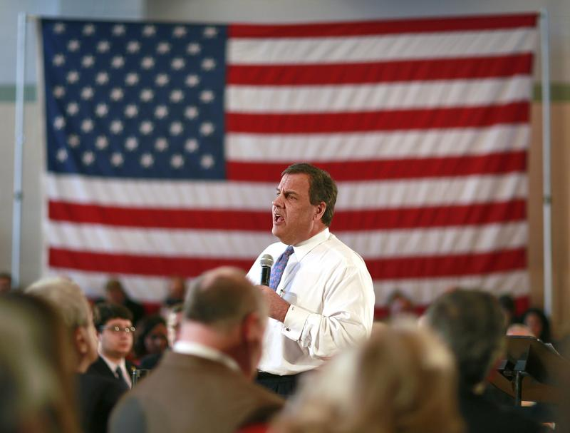 Governor Chris Christie holds his 132nd Town Hall in Whippany, N.J. on Tuesday, March 24, 2015.