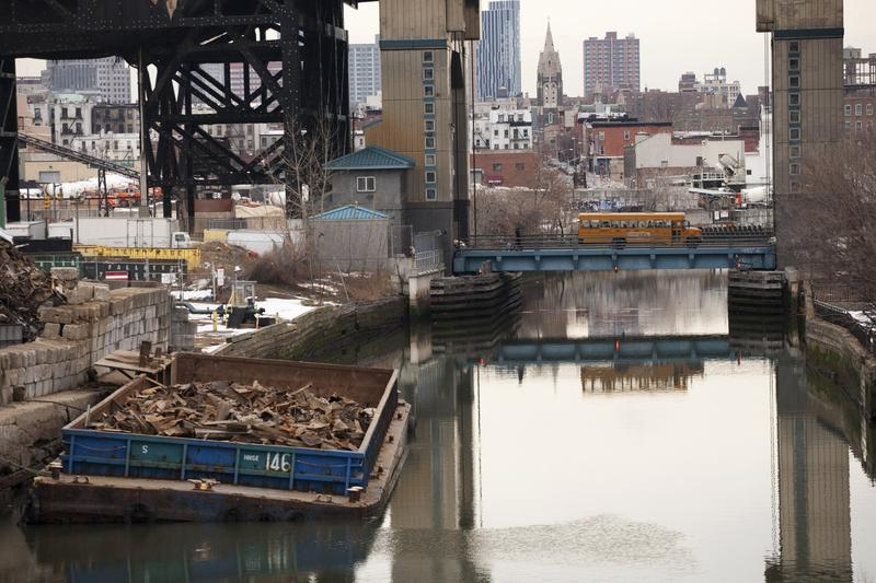 The Gowanus Canal in Brooklyn was added to the Superfund National Priorities List in 2010.