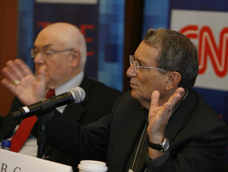 CEO of Greenberg Quinlan Rosner Stanley B. Greenberg speaks during CNN's Media Conference For The Election of the President 2008 at the Time Warner Center on October 14, 2008 in New York City.