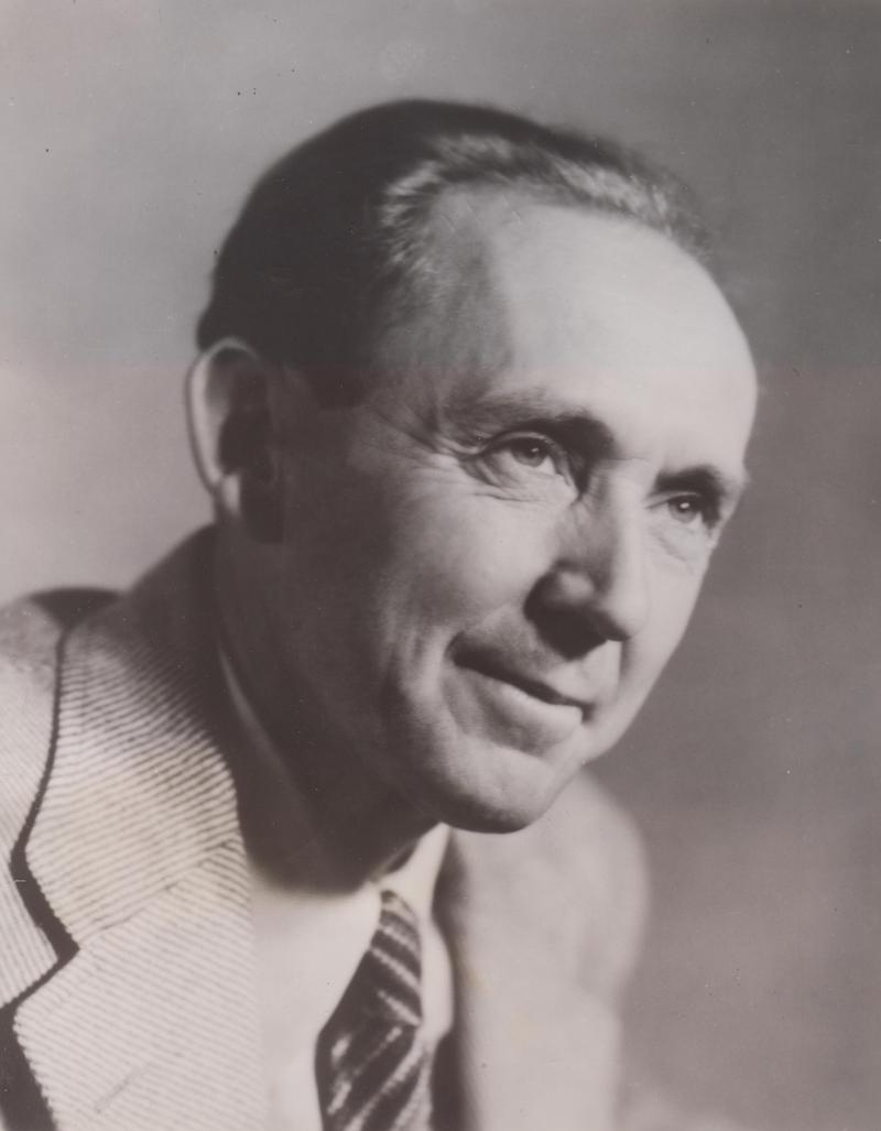 Composer Roy Harris publicity photo from 1944.