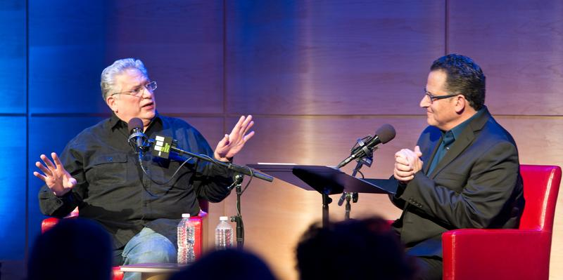 WQXR's Elliott Forrest talks with Harvey Fierstein, live in The Greene Space