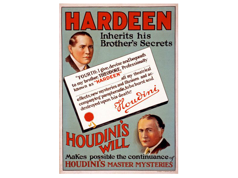 Theo Hardeen poster
