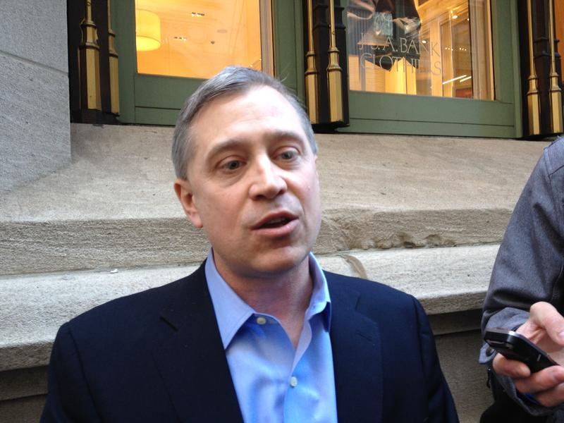 James Merriman, C.E.O. of the New York City Charter School Center