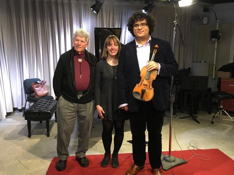 Left to right: Robert Sherman, Bethany Brooks, Samuel Nebyu.