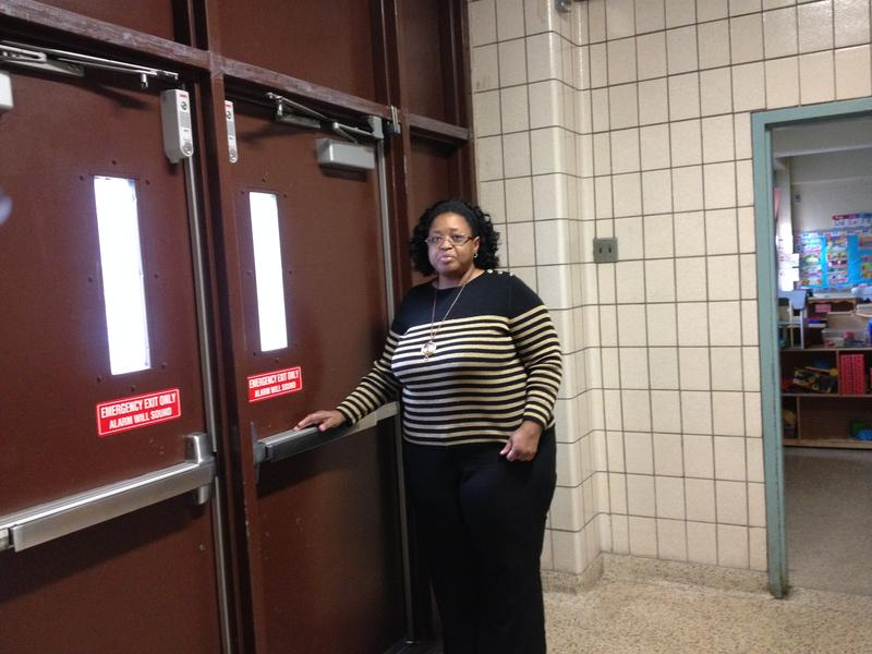 Principal Dawn Best at Brooklyn's P.S. 59 installed door alarms outside a pre-k classroom after a child left her school in January