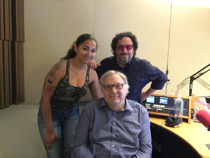 Robert Galinsky and Marla Riera in studio with John Hockenberry