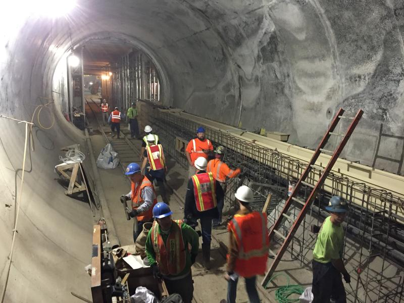 Amtrak offers inside, underground look along Penn Station tracks