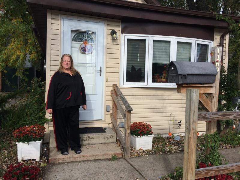 Pat Sullivan was dropped from the Build it Back program because she couldn't meet the city's deadline.
