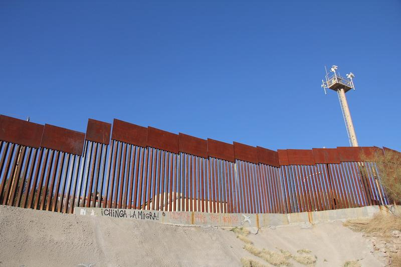 The wall as seen from Nogales, Sonora.
