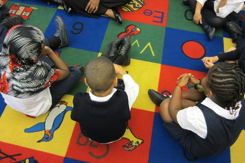 An Icahn charter school in the Bronx. A WNYC analysis found the network's schools had student attrition rates that were lower than those of their neighboring district schools.