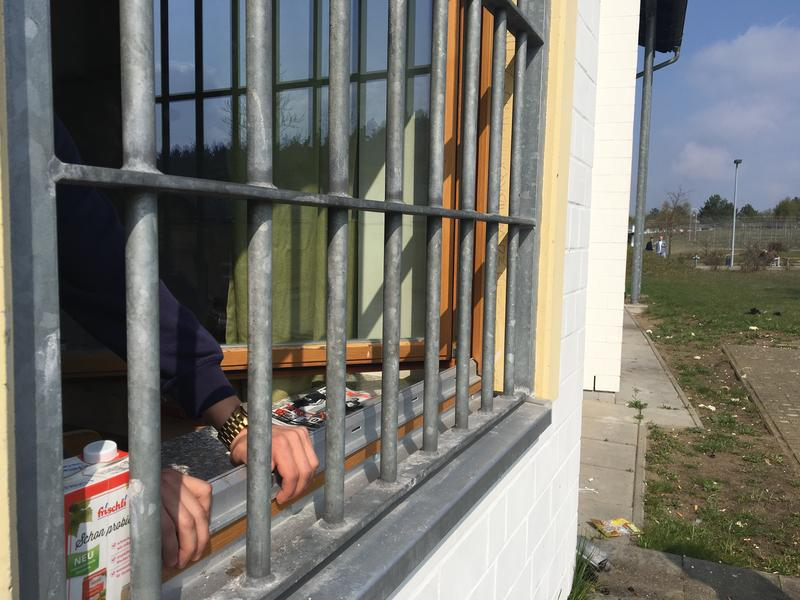 In Germany, there's a law that dictates how much natural light needs to come into a prisoners room. (Sarah Gonzalez/WNYC)
