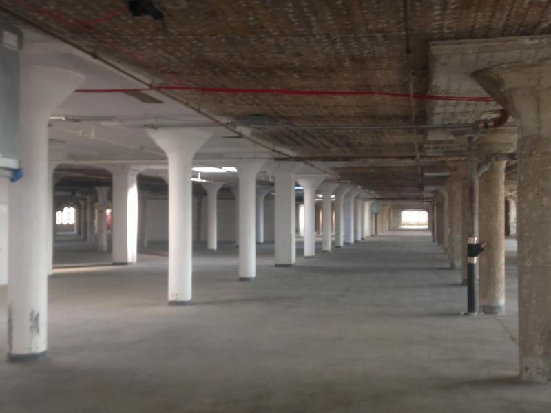 The future home of the Manufacturing Innovation Hub for Apparel, Textiles & Wearable Tech in Sunset Park, Brooklyn
