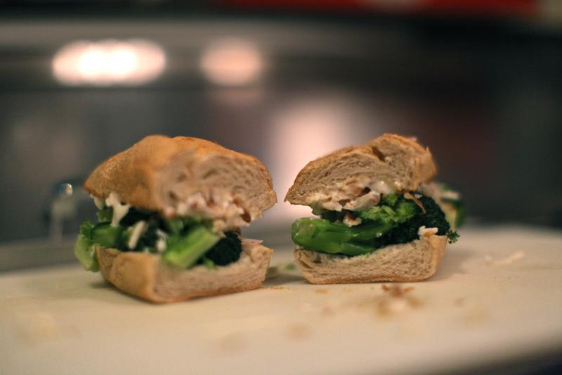 Chef Tyler Kord's No. 7 Broccoli Sub