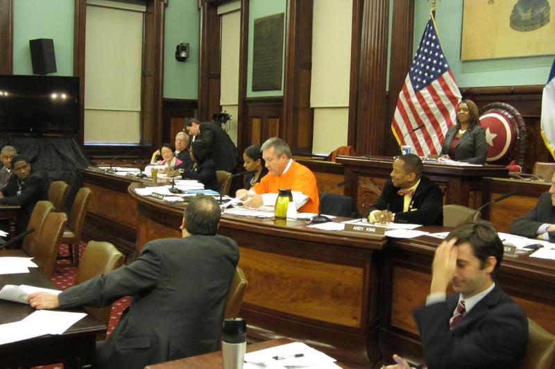 Danny Dromm, the Council's Education Committee Chair, criticized a charter school for making students wear orange T-shirts as a form of discipline