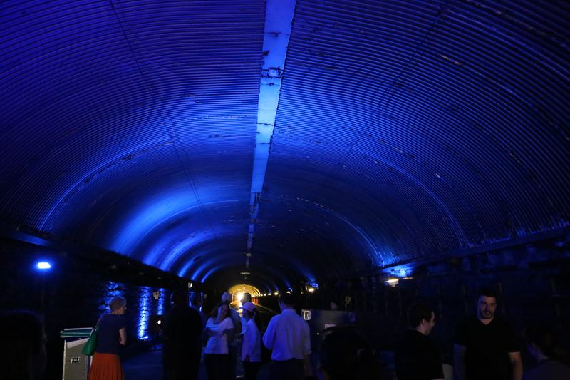"""Dive,"" a sound installation in the Park Avenue Tunnel"