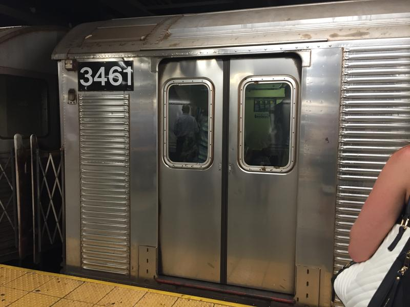 Car #3461 was just one of dozens of subway cars that didn't have working air conditioning on Monday